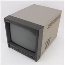 """JVC TM-A101G 9"""" Color CRT Video Monitor - TESTED & WORKING"""