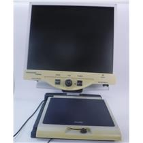 Enhanced Vision MERLIN MRVE19A-VA Magnifier with 19 inch Diagonal Color Monitor