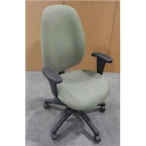***LOCAL PICK-UP ONLY***H/B Multi-Tilt Malaga Green Office Desk Adjustable Chair