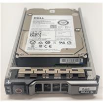 "Dell Enterprise 300GB 15K 2.5"" 12Gbps SAS Hard Drive 7FJW4"