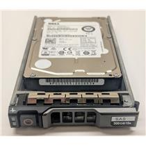 "Dell 300GB 15K SAS 2.5"" SFF Enterprise Hard Drive 4GN49 w/ R-Series Tray"