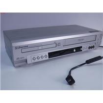 Emerson EWD2003 Video Cassette Recorder VCR & DVD/CD Player