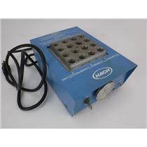Hach Cod Reactor 16500-10 16 Well Dry Bath Incubator - TESTED & WORKING