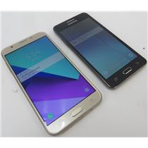Dealer Lot 2 Samsung SmartPhones Galaxy J7 Prime & Galaxy Grand Prime - T-Mobile