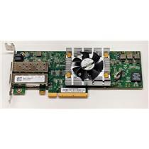 Dell Dual-Port QLE8262L PCI Express x8 Network Adapter PW4FJ Low Profile no SFPS