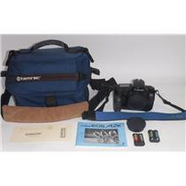 CANON EOS A2E 35mm Camera and TAMARAC Model 603 Camera Bag