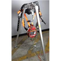 Miller MightEvac MR50GB Self Retracting Lifeline Fall Arrest Confined Space Rig