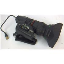 Fujinon A13x6.3BERM-SD 1:2/6.3-82MM Video Camera Professional Lens - WORKING