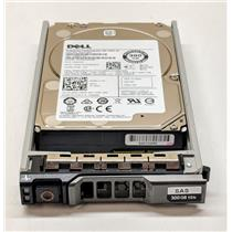 "Dell Enterprise 300GB 10K 2.5"" 12Gbps SAS Hard Drive YJ2KH ST300MM0008 w/ Tray"