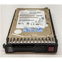 "HP 146GB 15K SAS 2.5"" 6G Dual Port 652625-001 652599-002 653950-001 SFF"