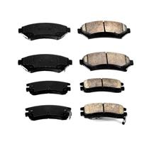 100% Brand New Front and Rear Ceramic Brake Pads for Buick Regal 1997-2005