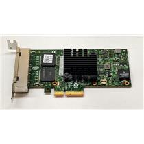 Dell Intel i350-T4 Quad-port 1Gb NIC PCI-E Low profile Card K9CR1 9YD6K