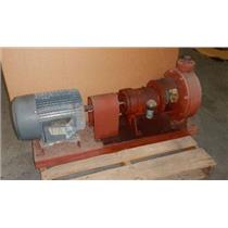 Met Pro Corp. Fybroc Division 1308-10 Pump W/ US Electrical 10 HP 3 Phase Motor