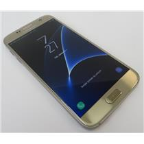 Samsung Galaxy S7 SM-G930V 32GB Gold Android Smartphone W/ Good Verizon IMEI #