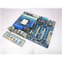 Gigabyte AMD Socket AM3 Desktop Motherboard GA-790FXTA-UD5 w/ I/O Shield  Tested