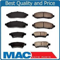 100% New Front & Rear Ceramic Brake Pads 2 Sets for Nissan Xterra 2005-2010