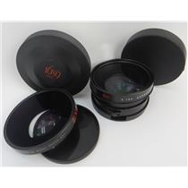 Lot Of 2 16x9 Lenses HD45X-EXII Fisheye Adapter & HD75XA Wide Angle Converter