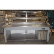 ***LOCAL PICK-UP*** Precision Industries Inc. DSGR-3285-0M Salad Bar - UNTESTED