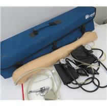 Laerdal 375-42050 SimPad VitalSim Blood Pressure Trainer Arm W/ Cuff & Case