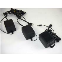 Lot of 3 Motorola 2580162R01 Power Supply Input 117Vac Output 13.8Vdc 1.5A