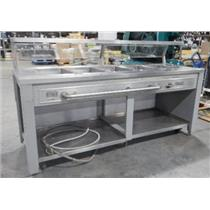 ***LOCAL PICK-UP*** Precision Industries Inc. 5 Well Salad Bar - MISSING PARTS