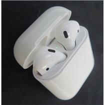 Apple AirPods 1st Gen A1722 Left & A1523 Right Earbuds W/ A1602 Charger Case