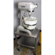 Hobart A200 20 Quart Commercial Dough Mixer W/ Beater Paddle & Mixer Bowl TESTED