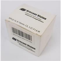 """NEW Arecont Vision Megapixel MPL8-16 8-16mm CS 1/2"""" F1.6IR Lens"""