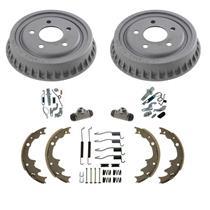 "Standard Rear 9"" Drums Brake Shoes Springs 8pc Kit for Ford Ranger 98-00"