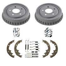 "Standard Rear 9"" Drums Brake Shoes Springs 6pc Kit for Ford Ranger 1998-2000"