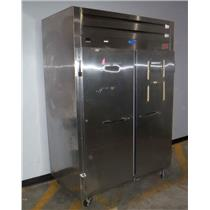 Randell 2020 46 CuFT 2  Door Reach-In Commercial Refrigerator W/Cord - WORKING