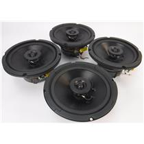 """Lot of 4 Atlas Sound FA136 6"""" 32w 70V Coaxial Ceiling Speakers TESTED & WORKING"""
