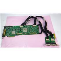 Matrox XMIO2/24/6000 PN 63039621897 PCI Video Card w/IO card  - WORKING PULL