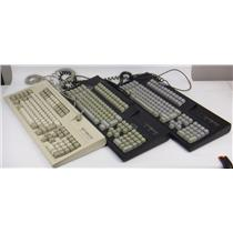Lot of 3 Affirmative AC40956 1225T Clicky Keyboard Model M - TESTED & WORKING