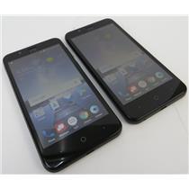 Dealer Lot Of 2 ZTE Z839 Blade Vantage 16GB Black Android Smartphones - Verizon