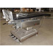 AMSCO 2080L Stainless Surgical Table SEE DESCRIPTION