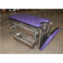 AMSCO Model 2080 Stainless Surgical Table - SEE DESCRIPTION
