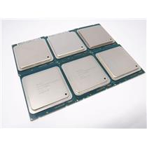 Lot of 6 Intel Xeon E5-2609 v2 Quad-Core CPU Server Processor SR1AX 2.50GHz