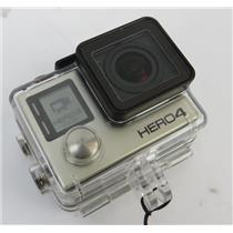 GoPro CHDHX-401 HERO4 Silver Action Camera / Camcorder W/ LCD Touchscreen & Case