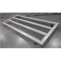 ***LOCAL PICK-UP*** Aluminum 116.5'' x 48'' 4x8 Low Boy Utility Stock Cart Deck