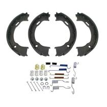 100% New Parking Emergency Brake Shoes & Shoe Spring Set for Jeep Wrangler 03-06