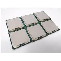 Lot of 6 Intel Core 2 DUO E8500 3.16GHz Dual-Core CPU Processor SLAPK Tested