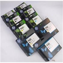 Lot of 9 New HP 940 /XL Ink Cartridges for HP OfficeJet Pro 8000 8500 8500A Exp.