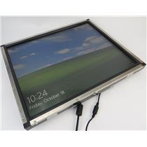 """ELO ET1939L-8CWA-3-NPB-G 19"""" Open Frame Touchscreen Monitor - TESTED & WORKING"""