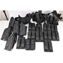 Lot of 19 Assorted Holsters And Drop Leg Platforms