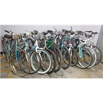 *** PICKUP ONLY *** Lot of 10 Bicycles Schwinn Huffy Next Kent Magna