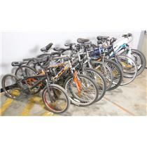 *** PICKUP ONLY *** Lot of 10 Bicycles Giant Maxim Mongoose Next Roadmaster