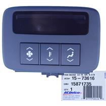 GM 15871735 HVAC Control Panel ACDelco fits 06-08 Cadillac DTS