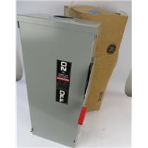 NEW GE TH4323R 100A 240VAC Fusible Outdoor Heavy-Duty Disconnect Switch