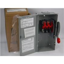 NEW Eaton DH362URK Heavy Duty Safety Switch 60A 600V 3P 3R Rainproof Non-Fusible